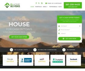Home Buyers in Florida Web Design