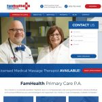 FamHealth Primary Care Website