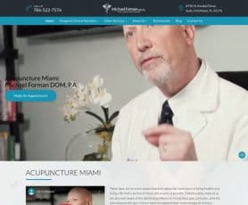 Michael Forman Dom, P.A Web Design
