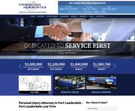 Friedland & Associates Web Design