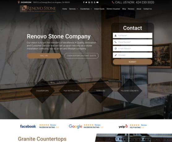 Renovo Stone Company Website