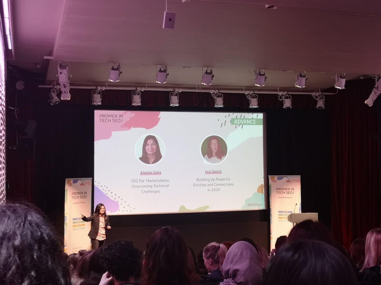 women in tech presentation