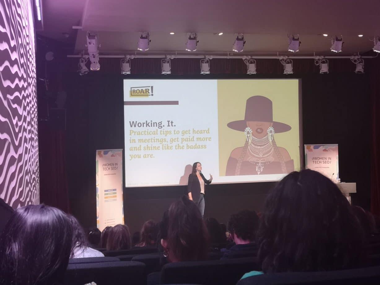 women in tech SEO festival in London