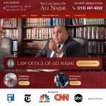 The Law Office Of Ali Najmi Website
