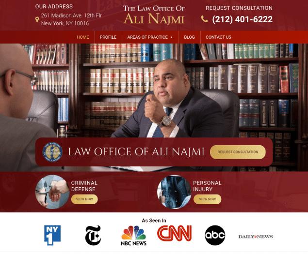The Law Office Of Ali Najmi