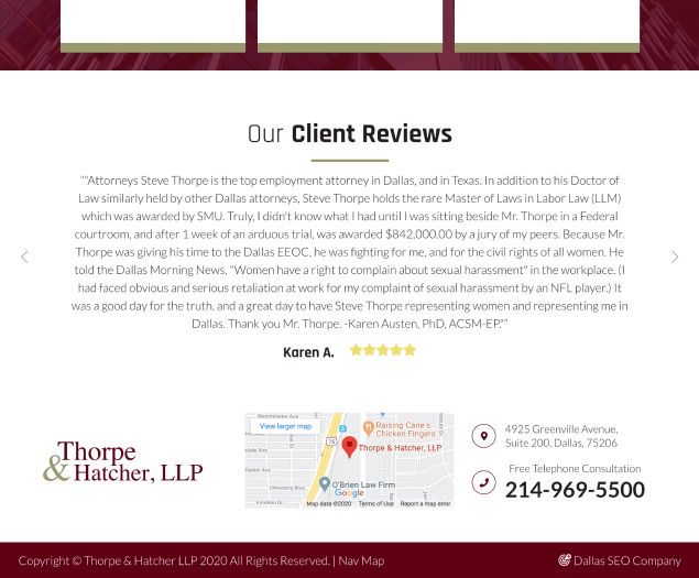 Thorpe & Hatcher LLP