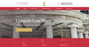 Gorguis Law Firm Web Design