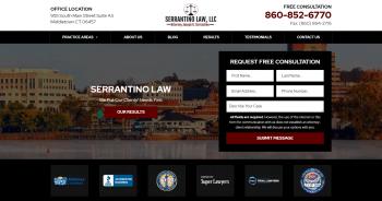 Serrantino Law, LLC Web Design