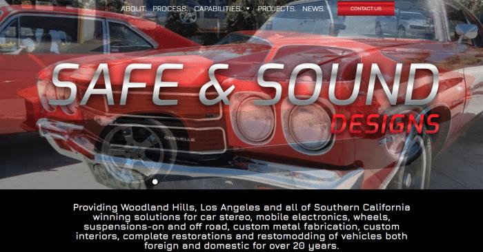 Safe & Sound Designs Website