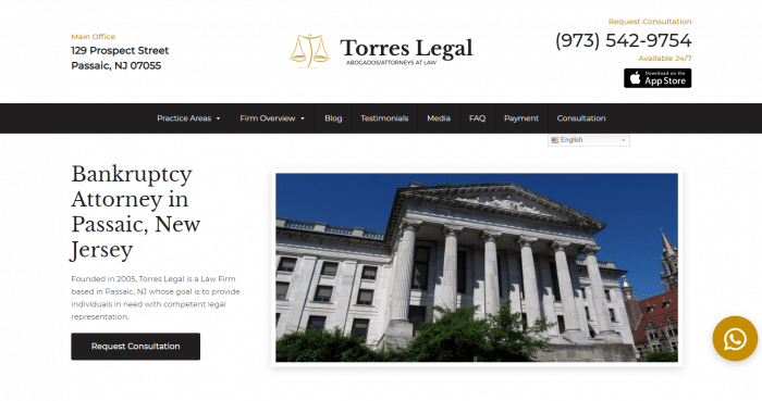 Jose R. Torres Esq Website