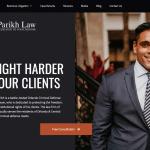 Parikh Law, P.A. Website