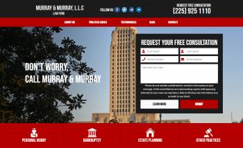 Murray & Murray, LLC Web Design