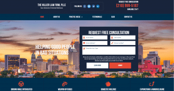 The Hillier Law Firm, PLLC Web Design