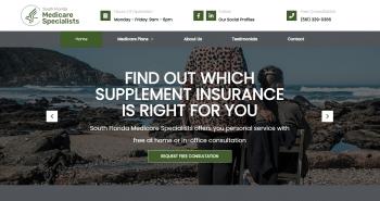 South Florida Medicare Specialists Web Design