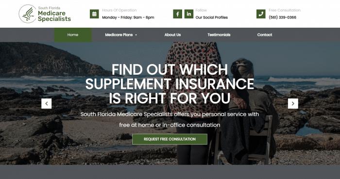 South Florida Medicare Specialists Website