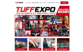 Tuff Expo Web Design