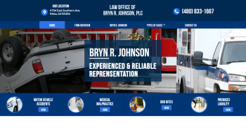 Law Office of Bryn R. Johnson, PLC Web Design