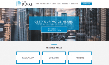 The Diggs Law Firm, LLC Web Design