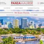 Panza, Maurer &  Maynard, P.A. Website
