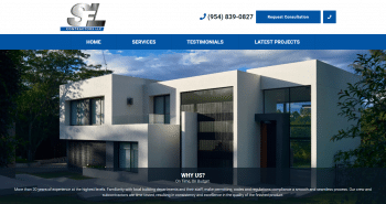 SFL Contractors LLC Web Design