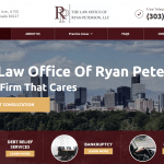 The Law Office of Ryan Peterson, LLC. Website