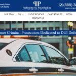 Perlmutter & Pourshalimi Attorneys At Law Website