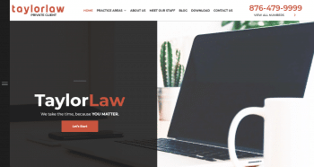 Robert J. Taylor Attorney At Law Web Design