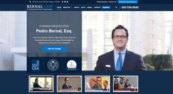 Bernal Law-A Professional Law Corporation Web Design