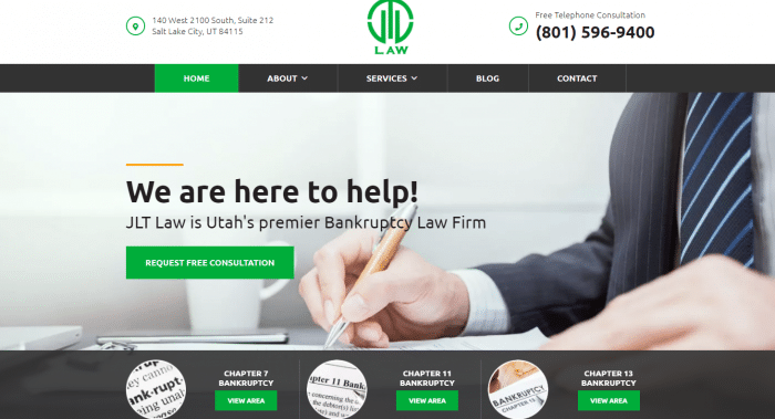 JLT Law Website