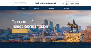 Roach Bankruptcy Center, LLC Web Design