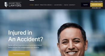 Injury Trial Lawyers, APC Web Design