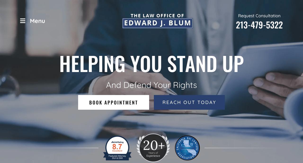 The Law Office of Edward J. Blum