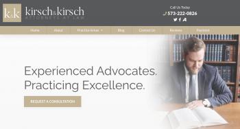 Kirsch & Kirsch, LLC Web Design
