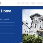 New England Cash Home Buyers Website