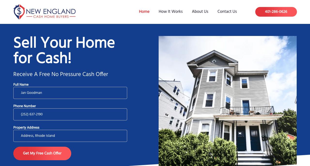 New England Cash Home Buyers
