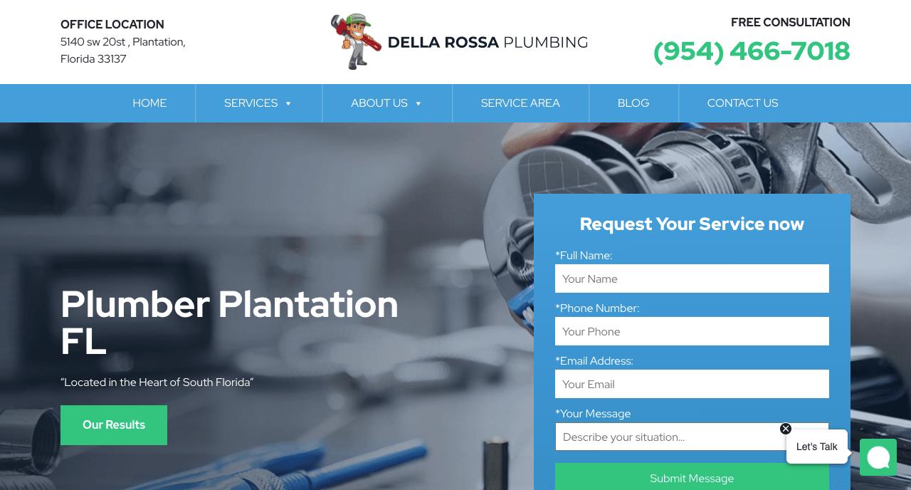 Della Rossa Plumbing