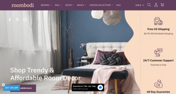 Roombodi LLC Web Design