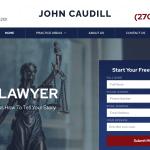 Caudill Law Website