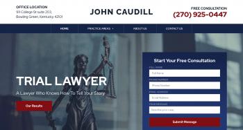 Caudill Law Web Design