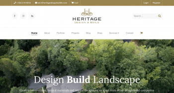 Heritage Design & Build Southeast Web Design