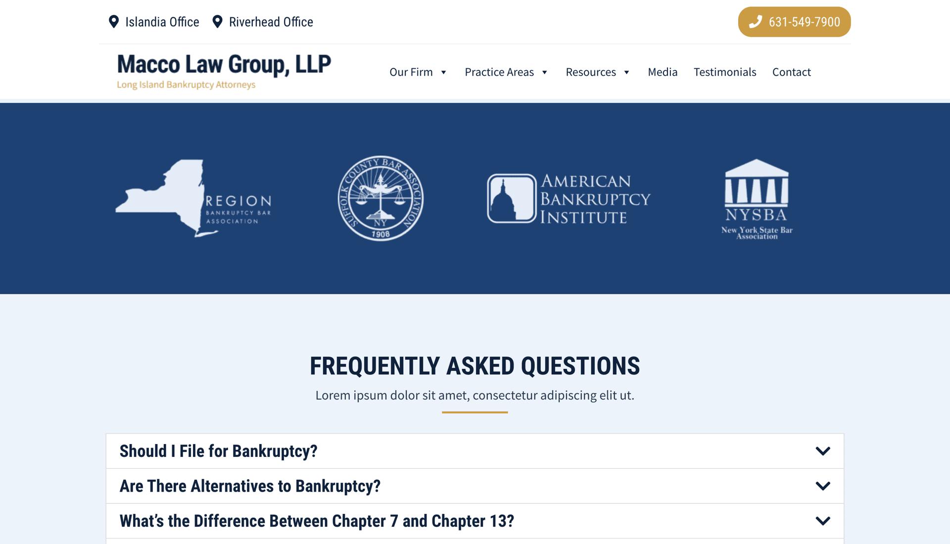 Macco Law Group, LLP