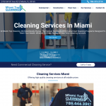 Miami Top Cleaning-Cleaning Company Website