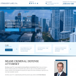 Stroleny Law, P.A Website